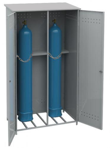 шкаф металлический для хранения баллонов